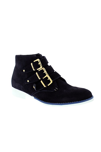 andre boots femme de couleur bleu
