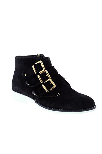 andre boots femme de couleur noir