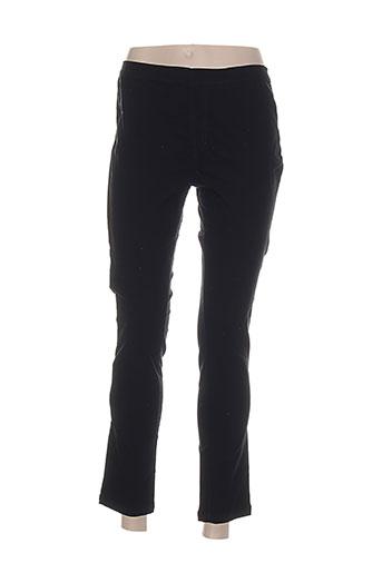 mac laury pantalons femme de couleur noir