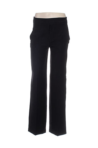 clp pantalons femme de couleur noir