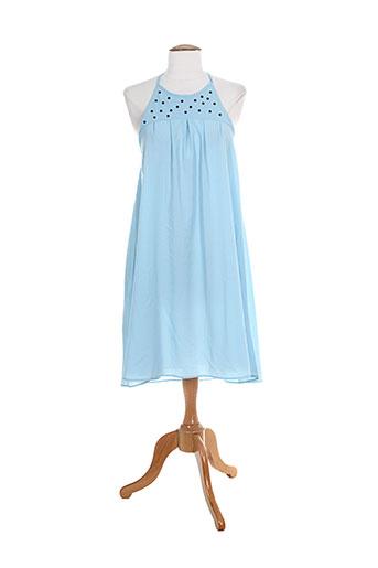 manu hancok tuniques femme de couleur bleu