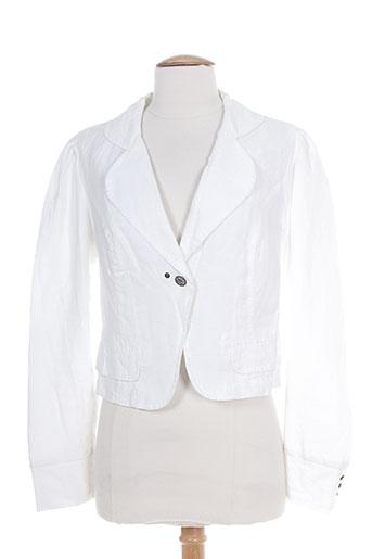 ddp vestes femme de couleur blanc