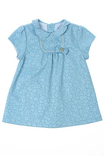 mayoral robes fille de couleur bleu