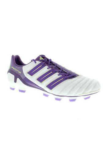 adidas baskets homme de couleur violet