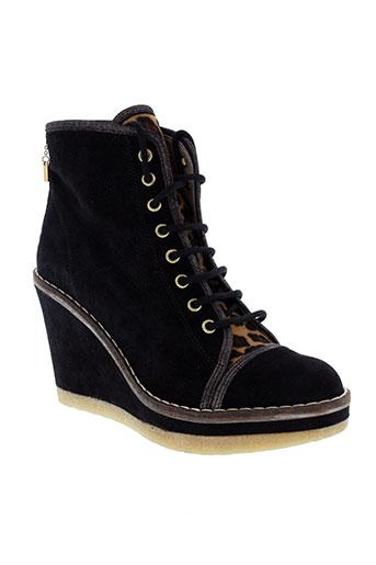 serafini boots femme de couleur noir