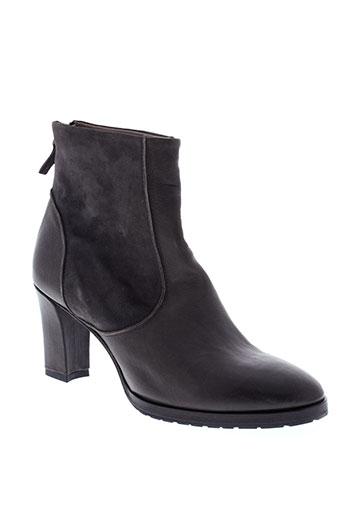 laboratorigarbo boots femme de couleur gris