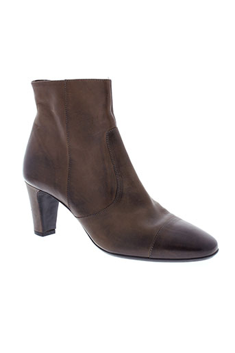 garbo chaussures femme de couleur marron