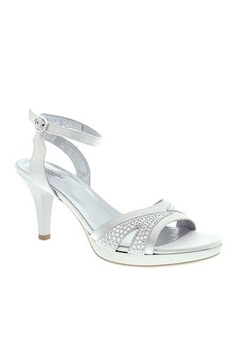 nero giardini chaussures femme de couleur gris