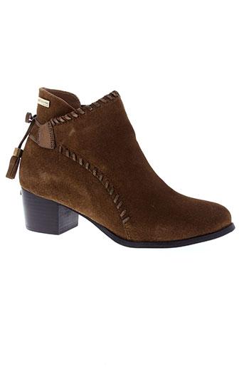 les et tropeziennes boots femme de couleur marron