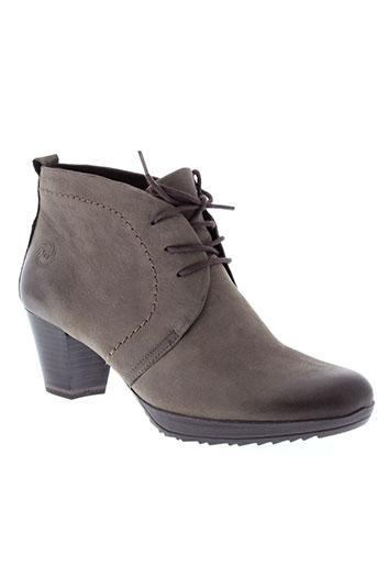 marco et tozzi boots femme de couleur marron