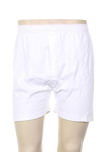 achel shortys et boxers homme de couleur blanc (photo)