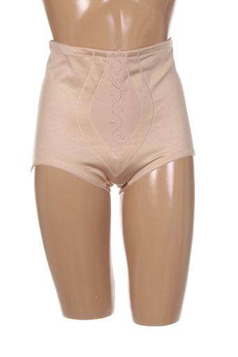 triumph slips et culottes femme de couleur beige
