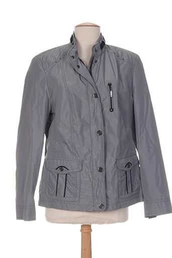 lebek manteaux femme de couleur gris