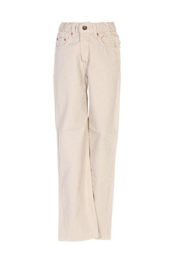 jost pantalons garçon de couleur beige