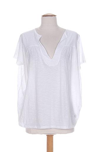 blanc boheme t-shirts femme de couleur blanc