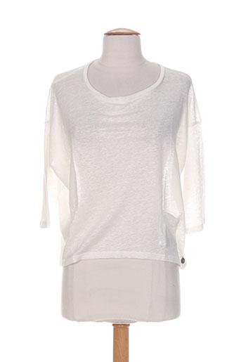 blanc boheme pulls femme de couleur blanc