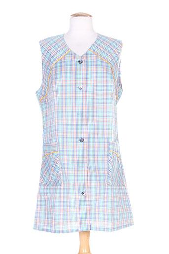 isabel robes femme de couleur bleu