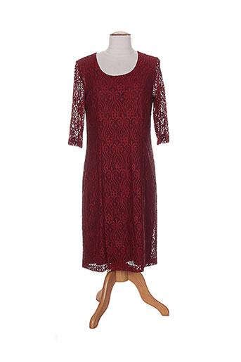 anne kelly robes femme de couleur rouge