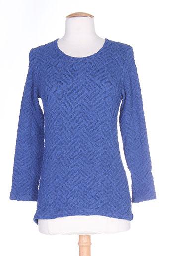 anne kelly chemises femme de couleur bleu