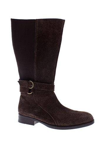 arima bottes femme de couleur marron