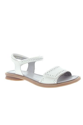mod8 sandales et nu et pieds fille de couleur blanc