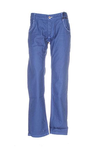 rivaldi pantalons et decontractes homme de couleur bleu