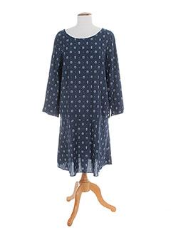 Robe mi-longue bleu HARRIS WILSON pour femme