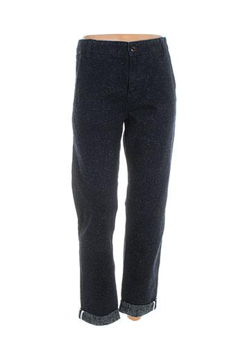 hymn pantalons homme de couleur bleu