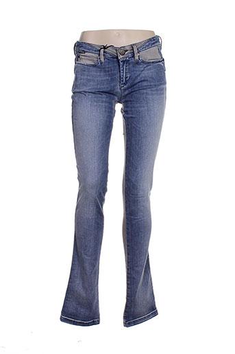 55 dsl jeans femme de couleur bleu