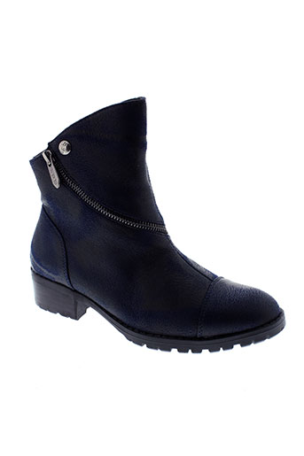 les et p et tites et bombes boots femme de couleur bleu