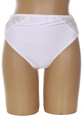 alirel slips et culottes femme de couleur blanc (photo)