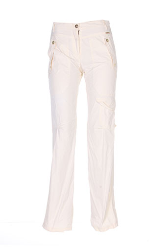 rivieres de lune pantalons femme de couleur beige