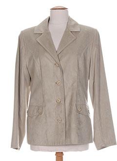 Veste chic / Blazer beige HAVREY pour femme