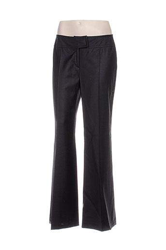 heyma pantalons femme de couleur noir