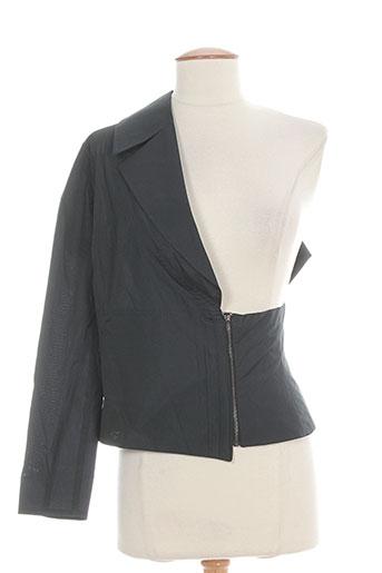 leïko vestes femme de couleur noir