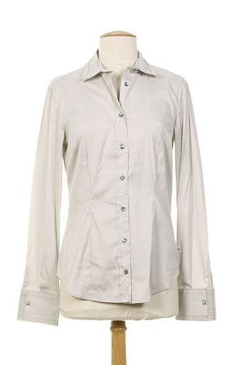 cerruti 1881 chemises femme de couleur gris