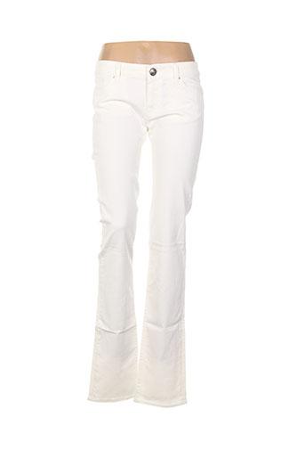 missoni jeans femme de couleur blanc