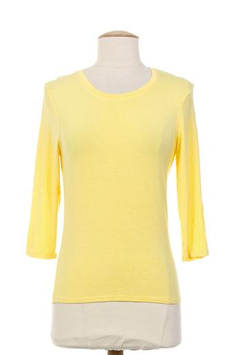 j EFFI_CHAR_1 w t-shirts femme de couleur jaune