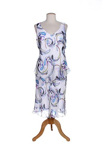 jean delfin robes femme de couleur blanc