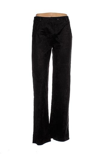 femmes je vous aime pantalons femme de couleur noir