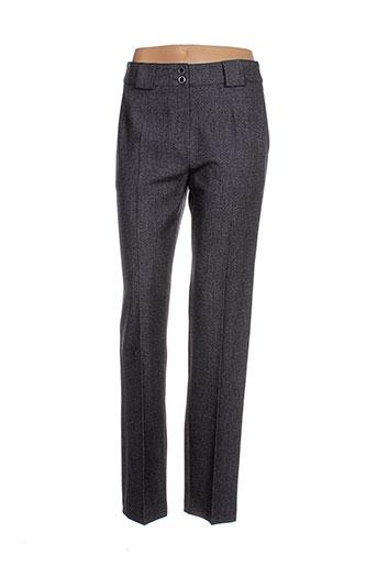 telmail pantalons et citadins femme de couleur gris