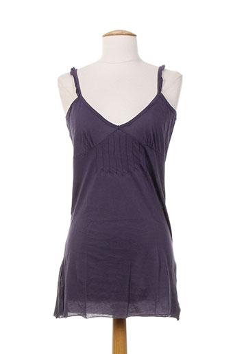 bellerose chemises femme de couleur violet