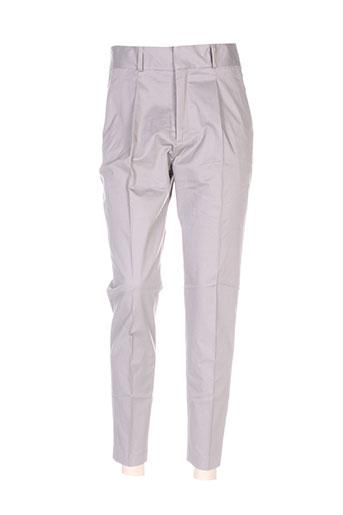Pantalon chic gris GRAUMANN pour femme