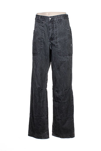 oxbow pantalons homme de couleur gris