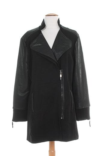 zeli manteaux femme de couleur noir