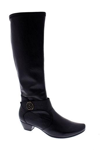 sweet bottes femme de couleur noir