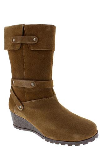 inea boots femme de couleur marron