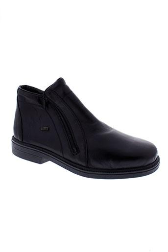 rieker boots homme de couleur noir