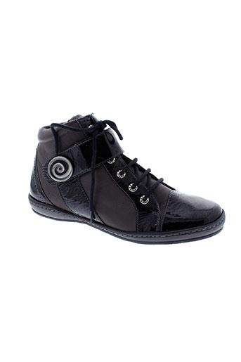 geo et reino boots femme de couleur gris