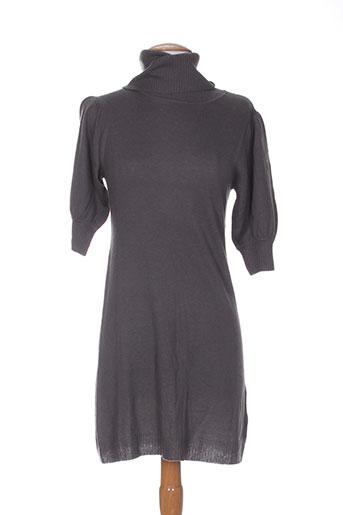 estheme robes femme de couleur gris